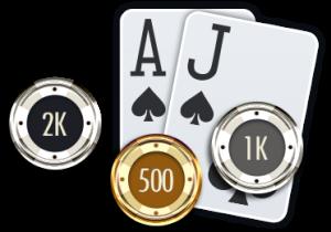 uitleg van de blackjack strategie